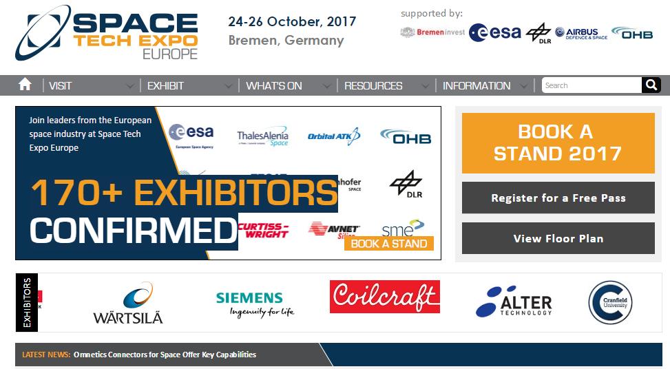 SpaceTechExpo2017