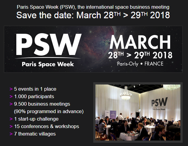Paris Space Week 2018