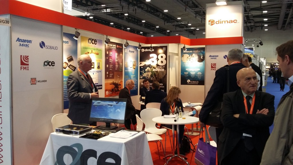 A busy Space Tech Expo for OCE and its distributor Dimac